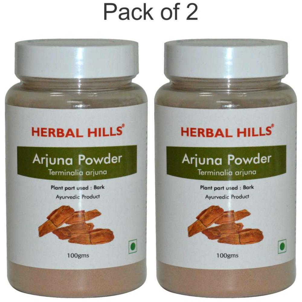 Herbal Hills Arjuna Powder (100g, Pack of 2)