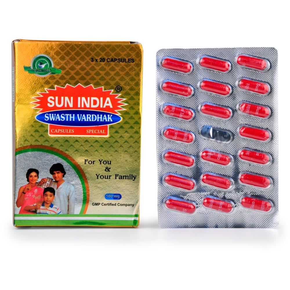 Sun India Swasth Vardhak Capsules (60caps)