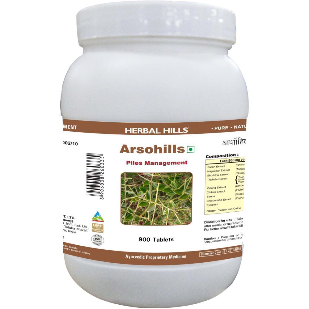Herbal Hills Arsohills (900tab)