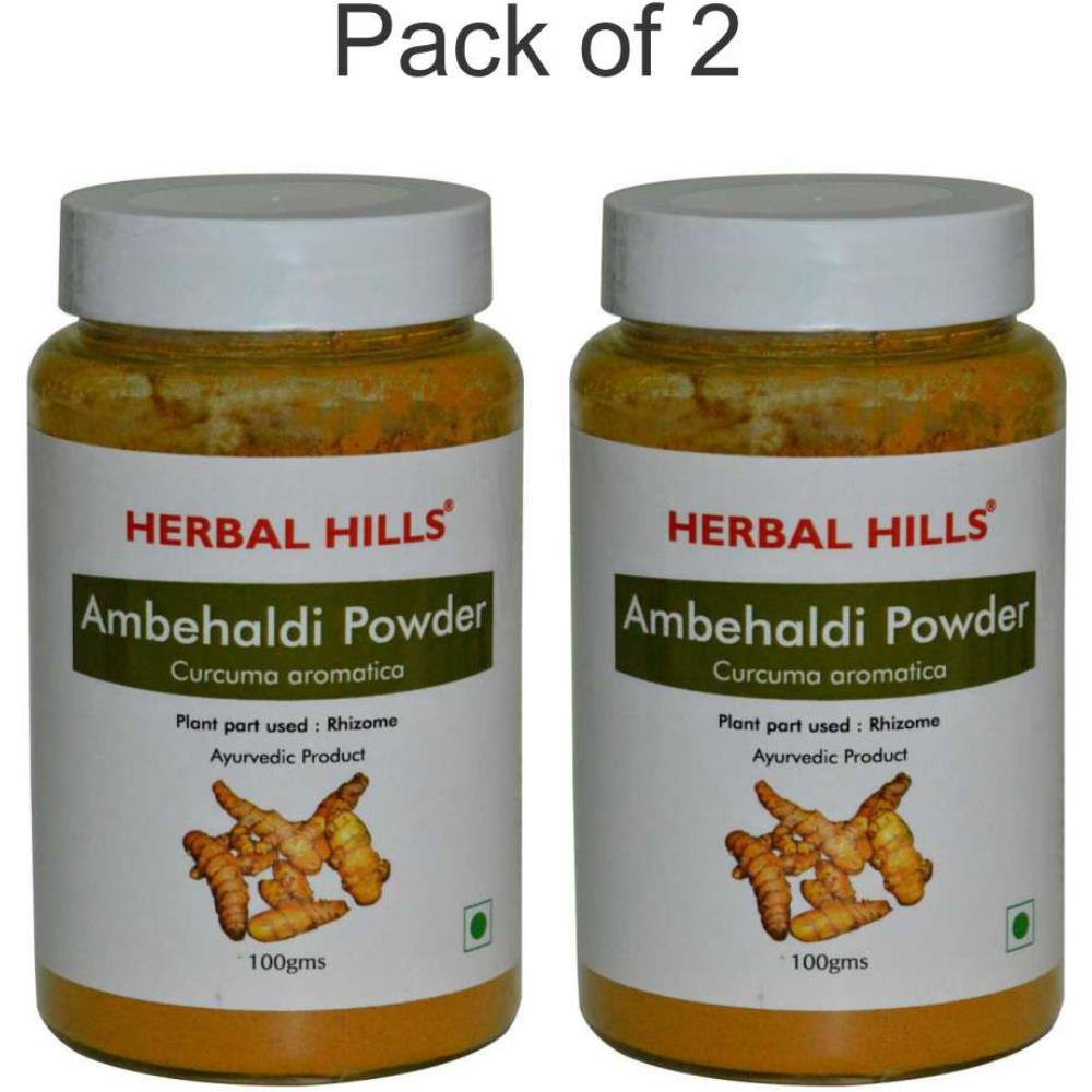 Herbal Hills Ambehaldi Powder (100g, Pack of 2)