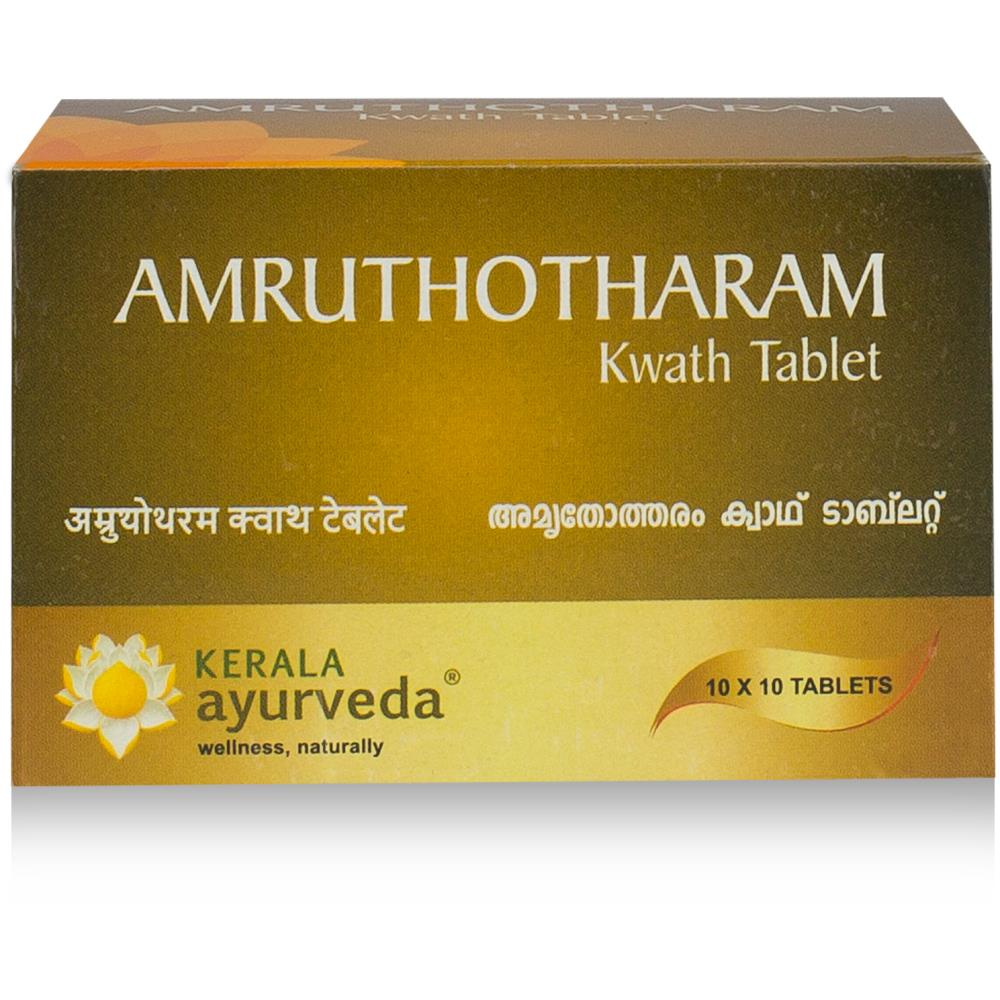 Kerala Ayurveda Amruthotharam Kwath Tab (100tab)