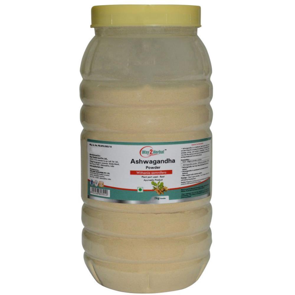 Way2Herbal Ashwagandha Powder Powder (1kg)