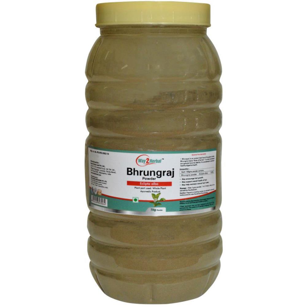Way2Herbal Bhrungraj Powder Powder (1kg)