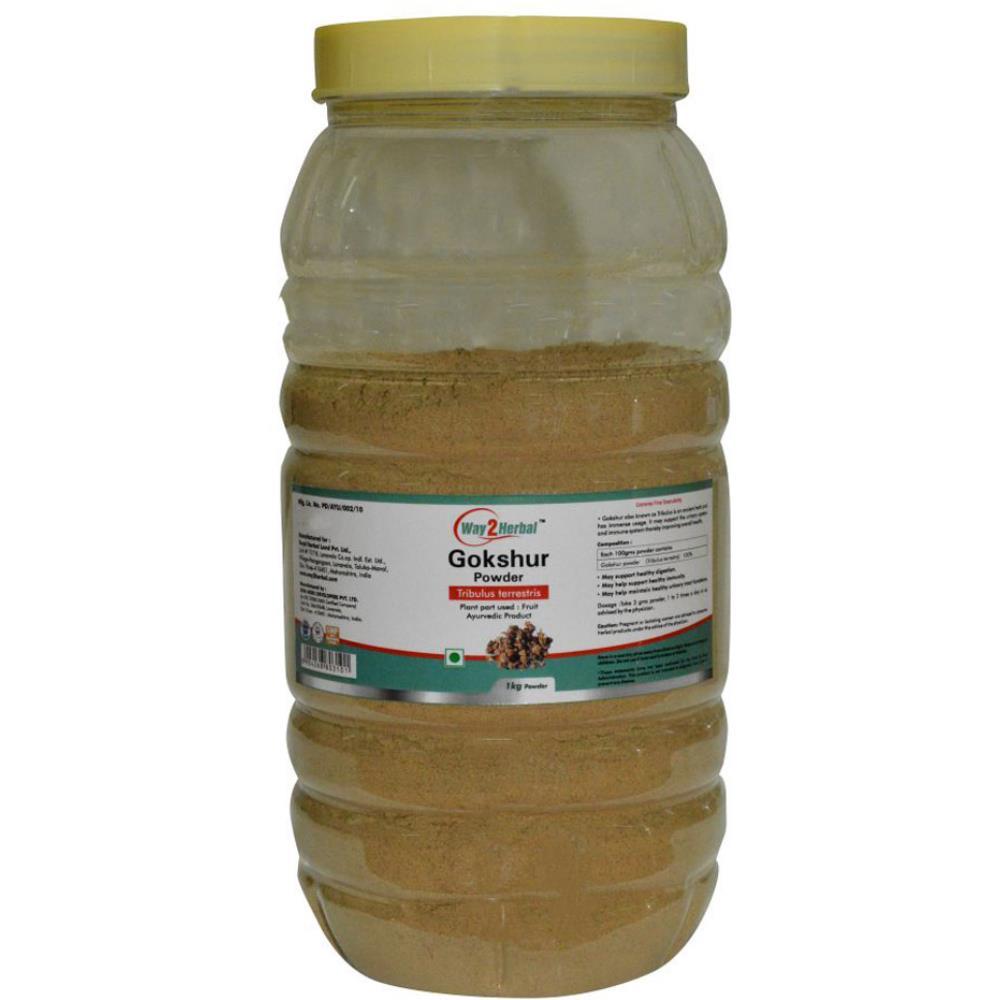 Way2Herbal Gokshur Powder Powder (1kg)