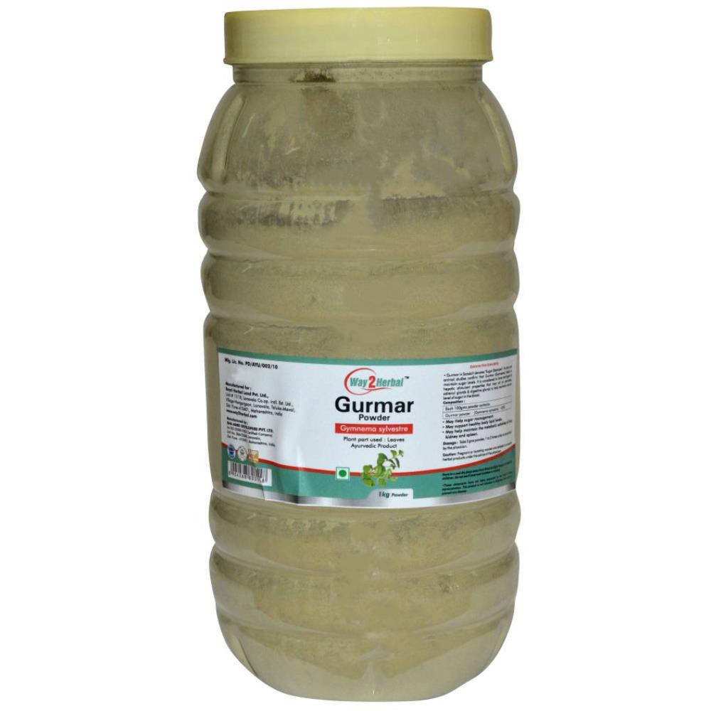 Way2Herbal Gurmar Powder Powder (1kg)