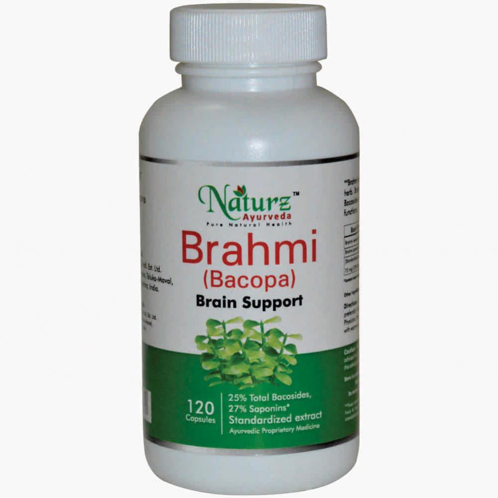 Naturz Ayurveda Brahmi Capsules (120caps)
