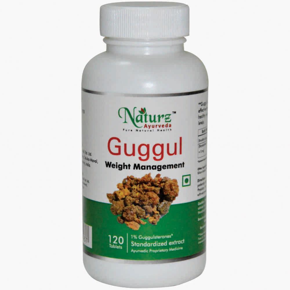 Naturz Ayurveda Guggul Tablets (120tab)