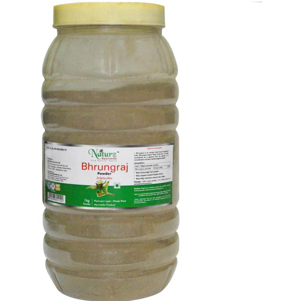Naturz Ayurveda Bhrungraj Powder Powder (1kg)