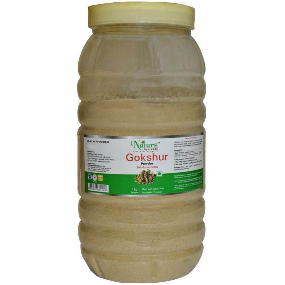Naturz Ayurveda Gokshur Powder Powder (1kg)