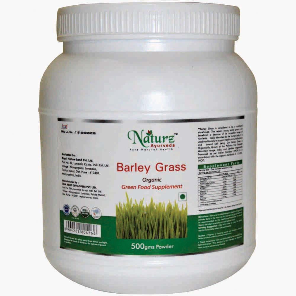 Naturz Ayurveda Barley Grass Powder (500g)
