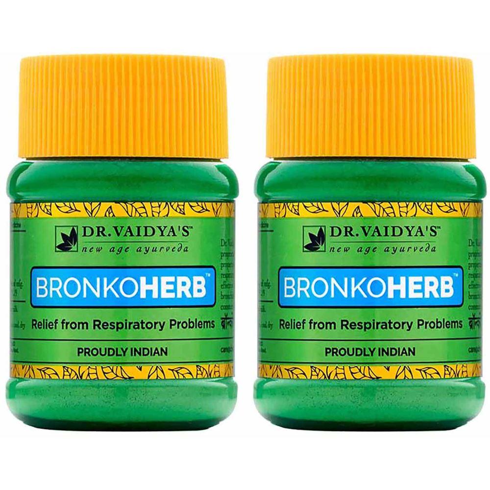 Dr. Vaidyas Bronkoherb Powder (50g, Pack of 2)