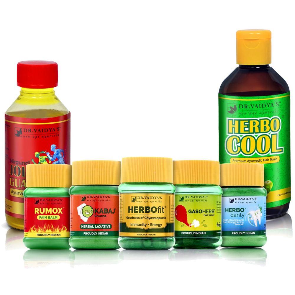 Dr. Vaidyas Ayurvedic Health Pack for Senior Citizens (1Pack)