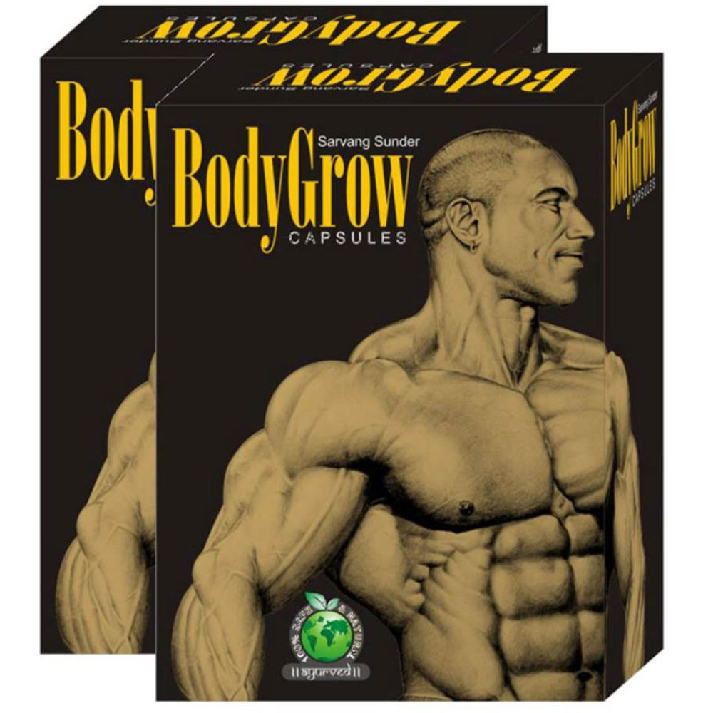 Mahaved Body Grow Capsule (50caps, Pack of 2)
