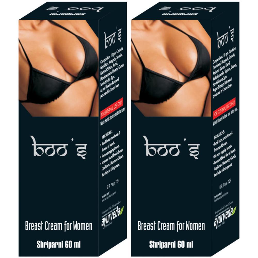 Mahaved Boo S Cream (60g, Pack of 2)