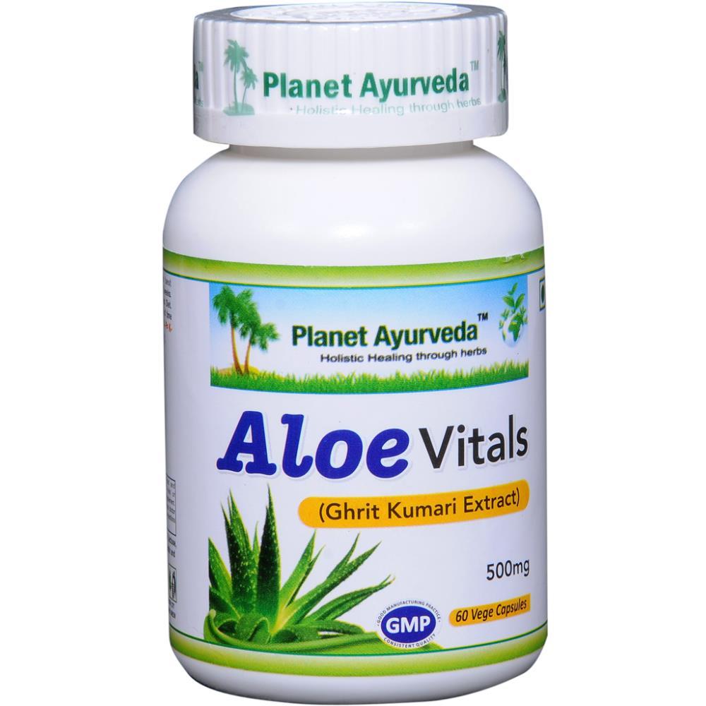 Planet Ayurveda Aloe Vitals Capsule (60caps)