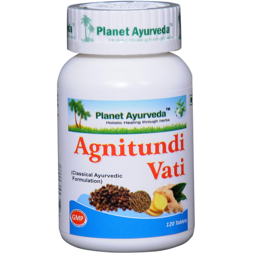 Planet Ayurveda Agnitundi Vati (120tab, Pack of 2)