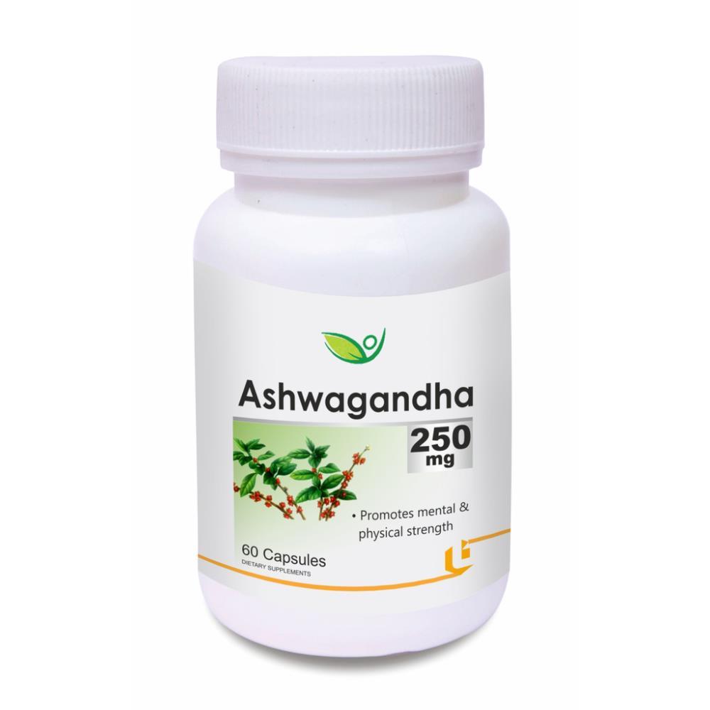 Biotrex Ashwagandha 250Mg Capsule (60caps)