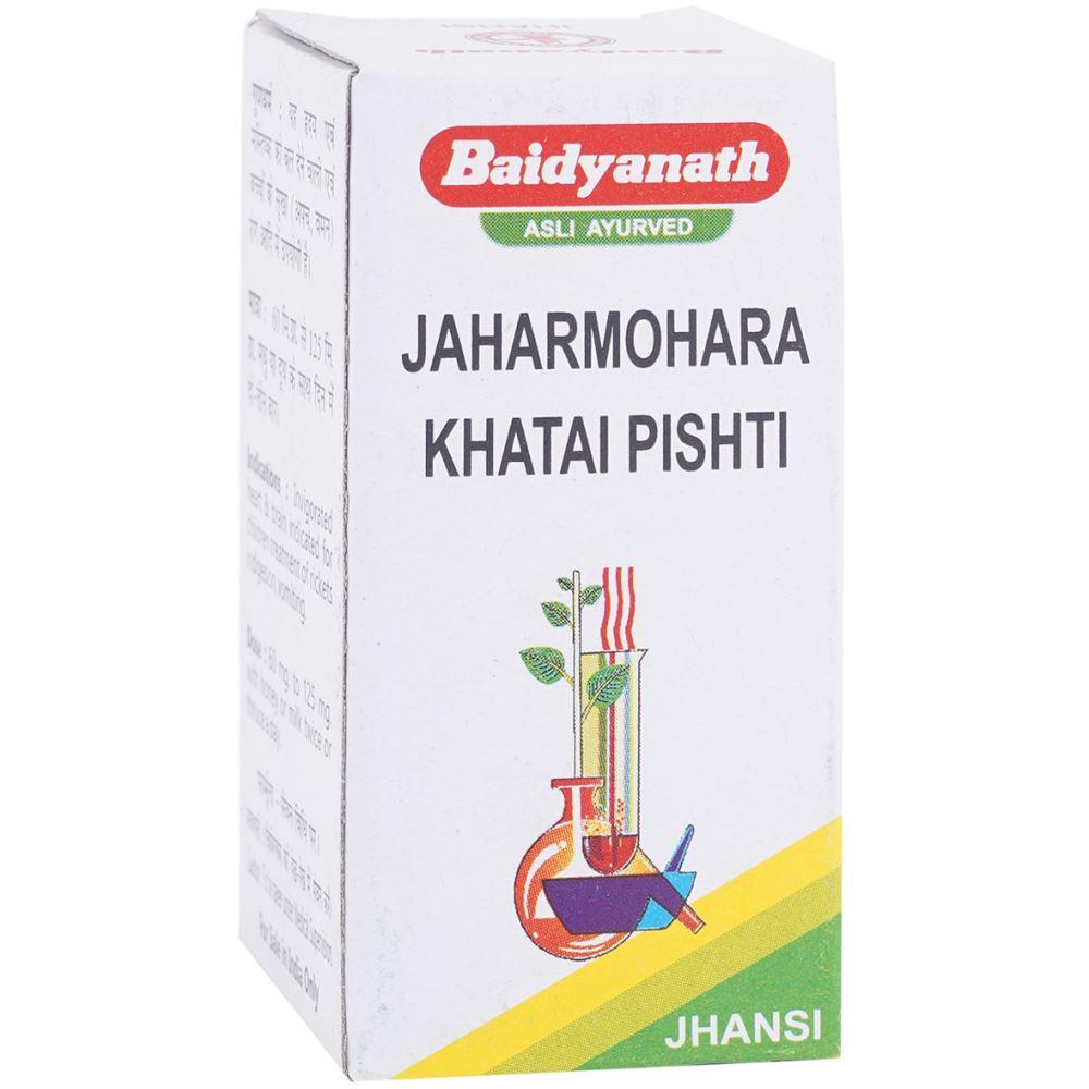 Baidyanath Jaharmohara Khatai Pishti (10g)