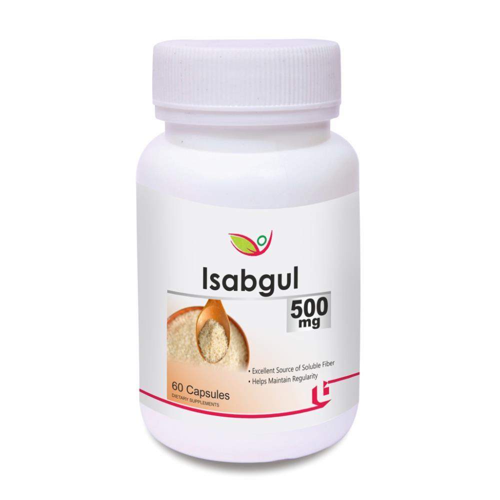Biotrex Isabgul 500Mg Capsule (60caps)