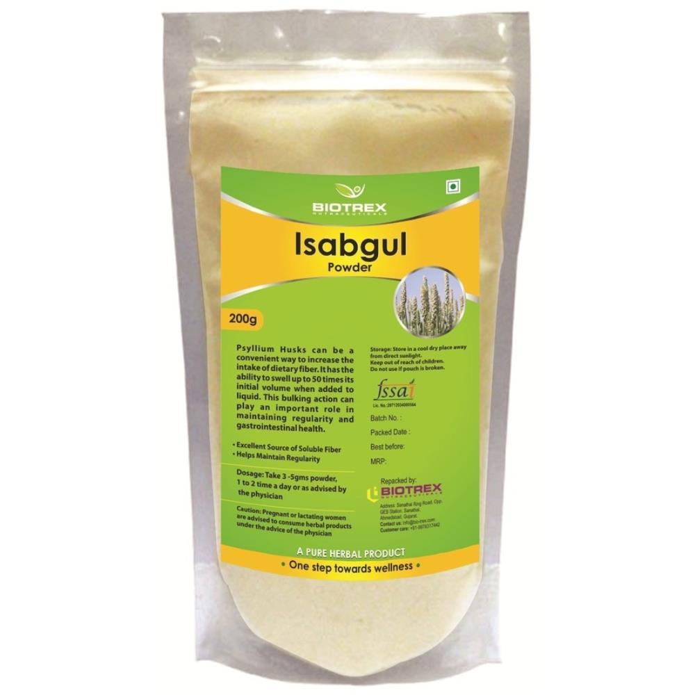 Biotrex Isabgul Herbal Powder (200g)