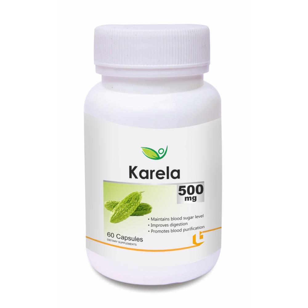 Biotrex Karela 500Mg Capsule (60caps)