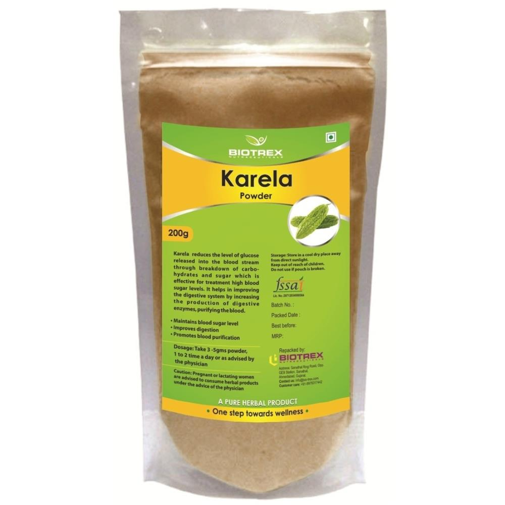 Biotrex Karela Herbal Powder (200g)