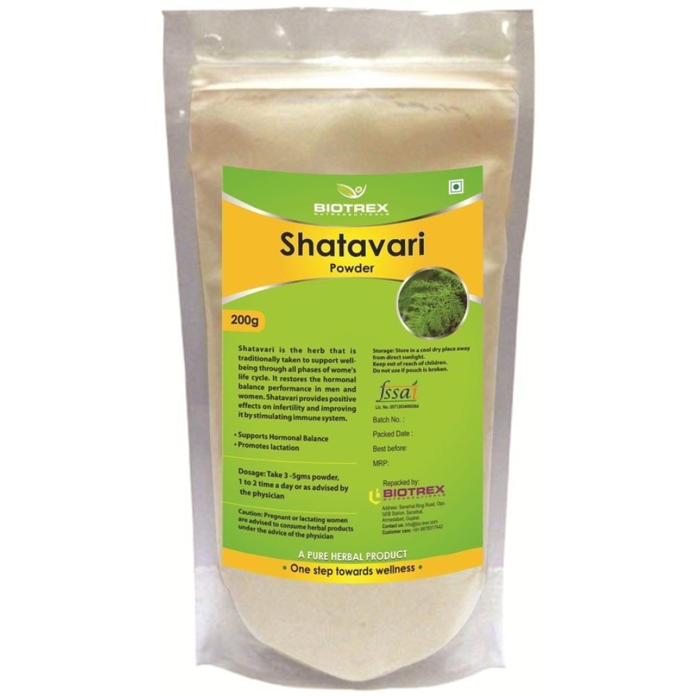 Biotrex Shatavari Herbal Powder (200g)