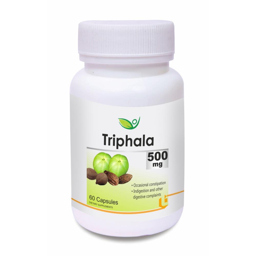 Biotrex Triphala 500Mg Capsule (60caps)