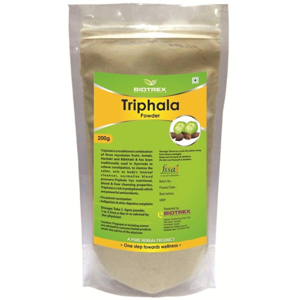 Biotrex Triphala Herbal Powder (200g)