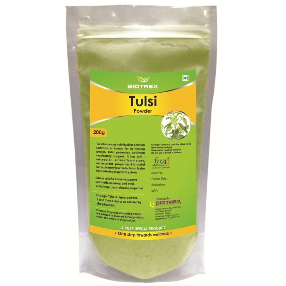 Biotrex Tulsi Herbal Powder (200g)