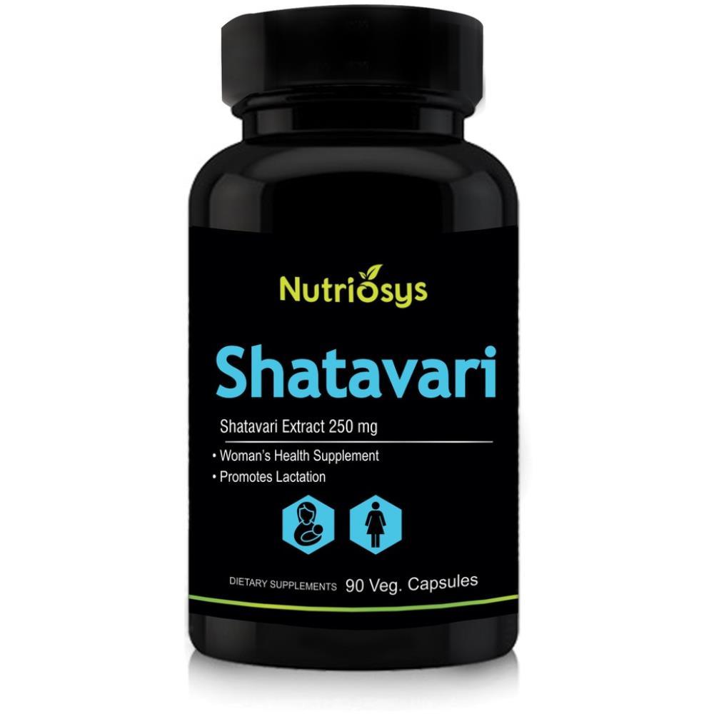 Nutriosys Shatavari 250Mg Veg Capsule (90caps)