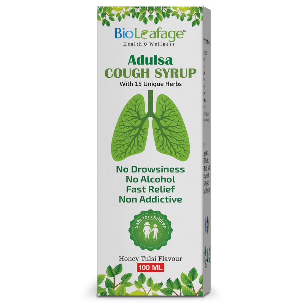 Bioleafage Adulsa Cough Syrup (100ml)