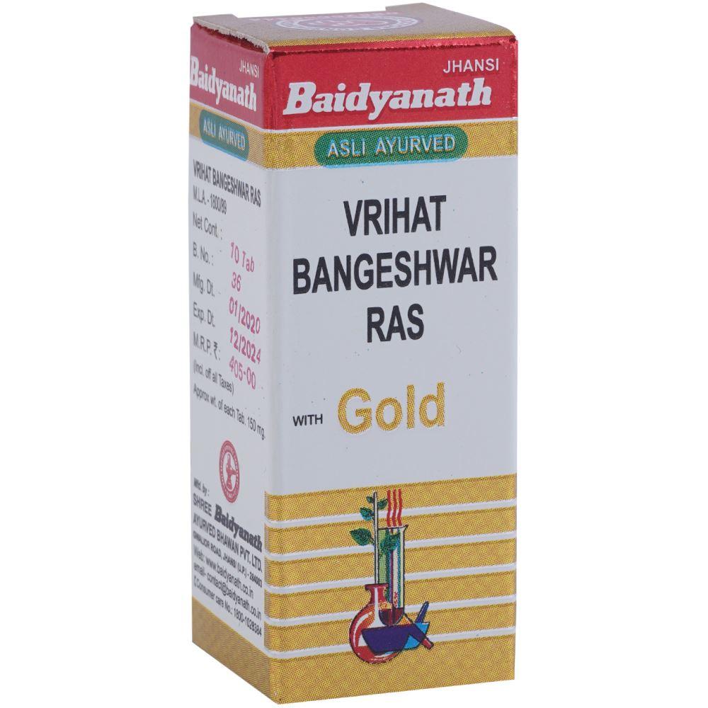 Baidyanath Vrihat Bangeshwar Ras (Swarna Moti Yukta) (10tab)