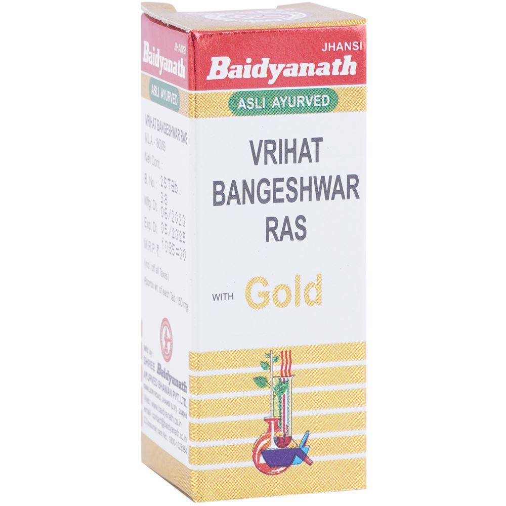 Baidyanath Vrihat Bangeshwar Ras (Swarna Moti Yukta) (25tab)