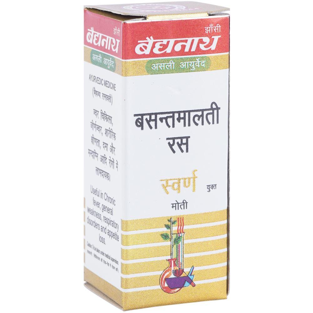 Baidyanath Basant Malti Ras (Swarna Yukta) (10tab)