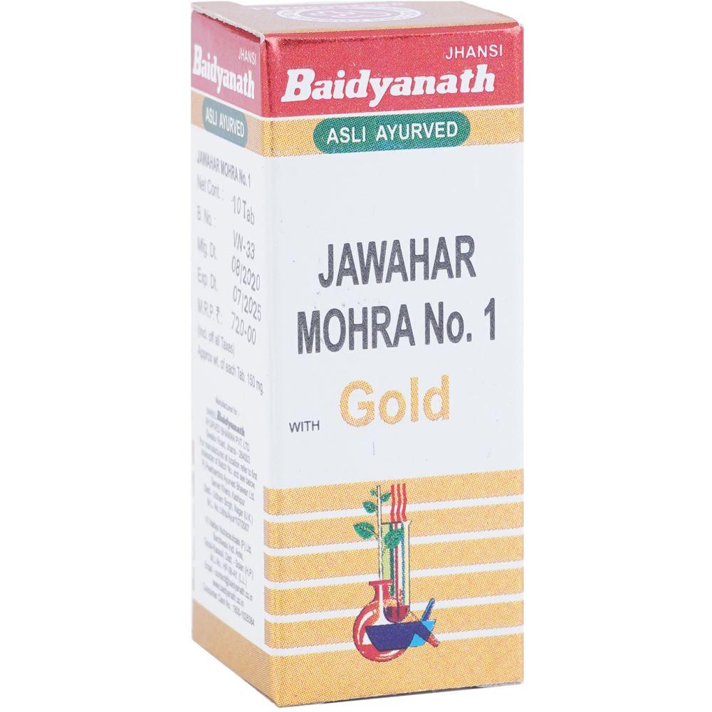 Baidyanath Jawaharmohra No 1 (10tab)