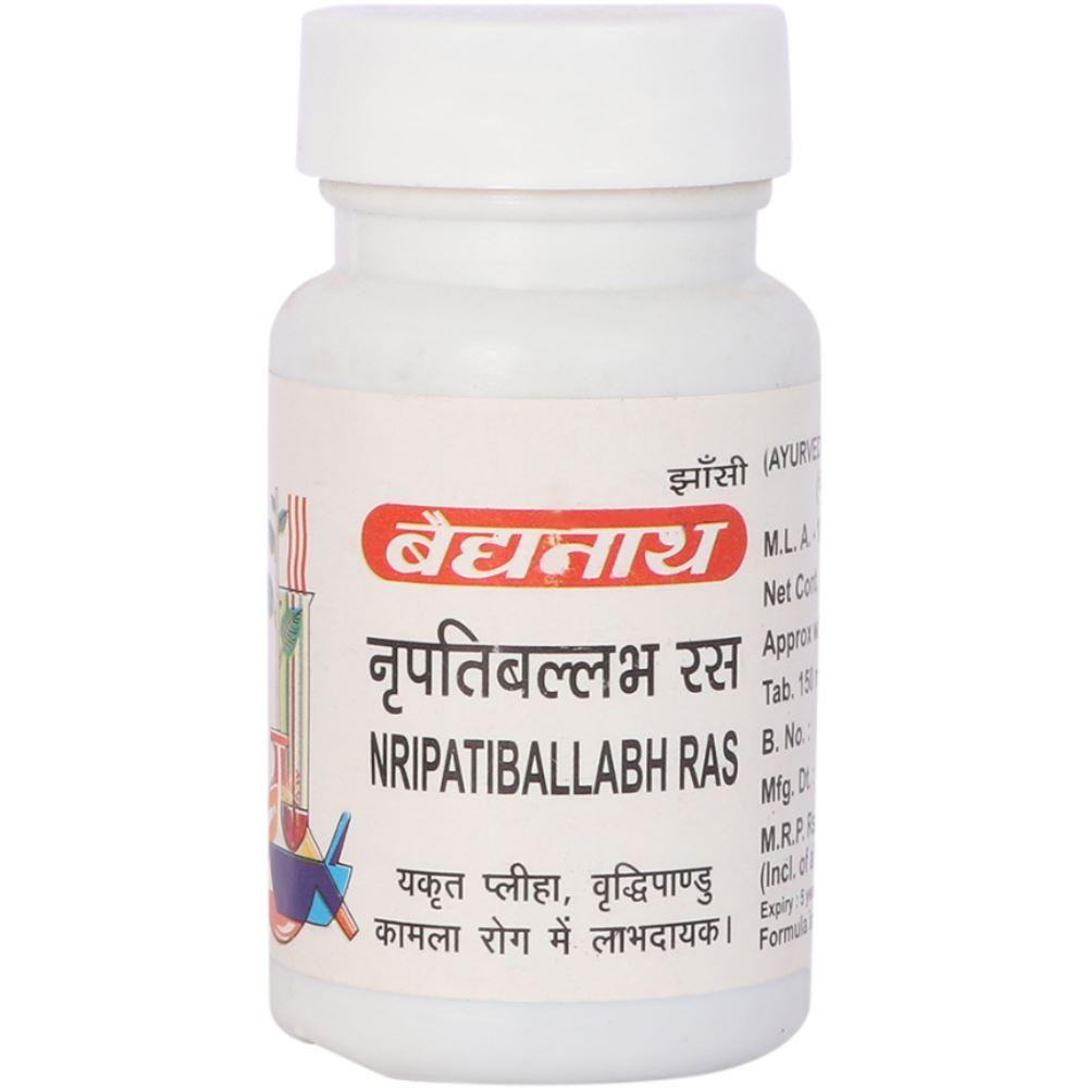 Baidyanath Nripatiballabh Ras (80tab)