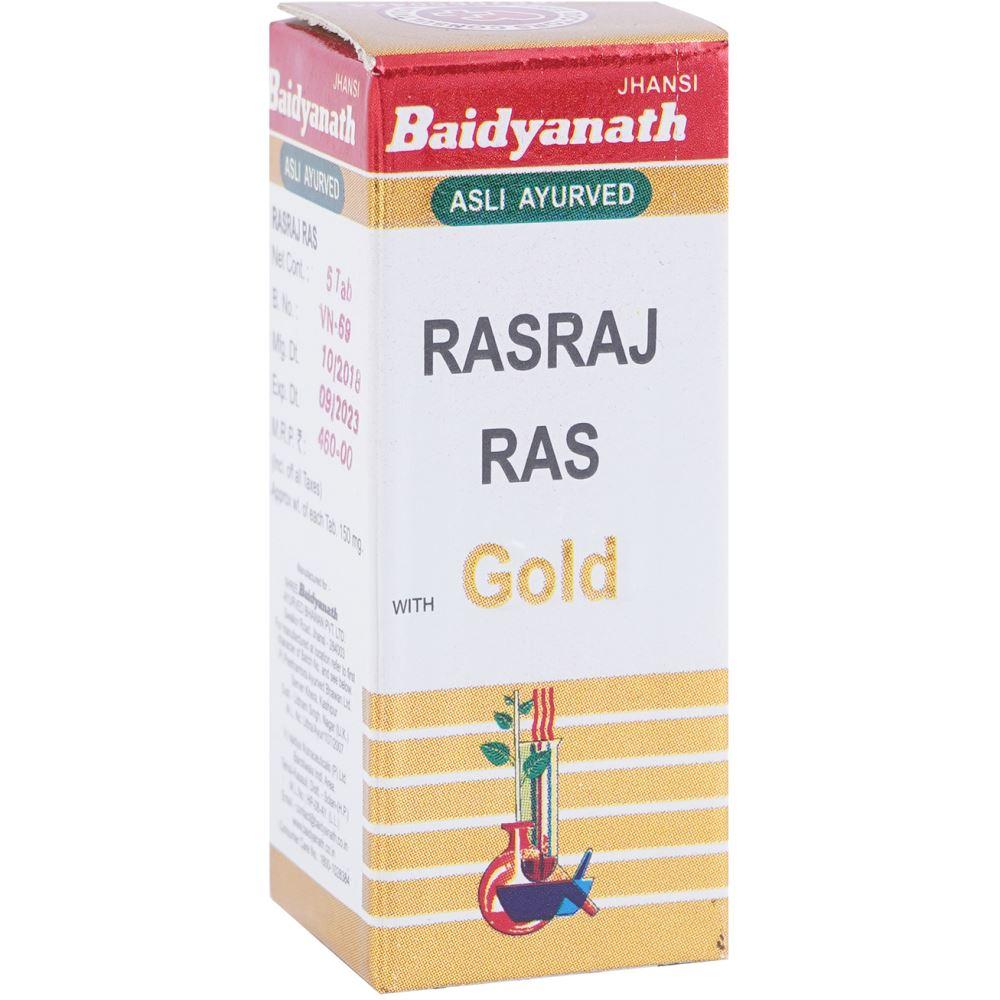 Baidyanath Rasraj Ras (Swarna Yukta) (5tab)