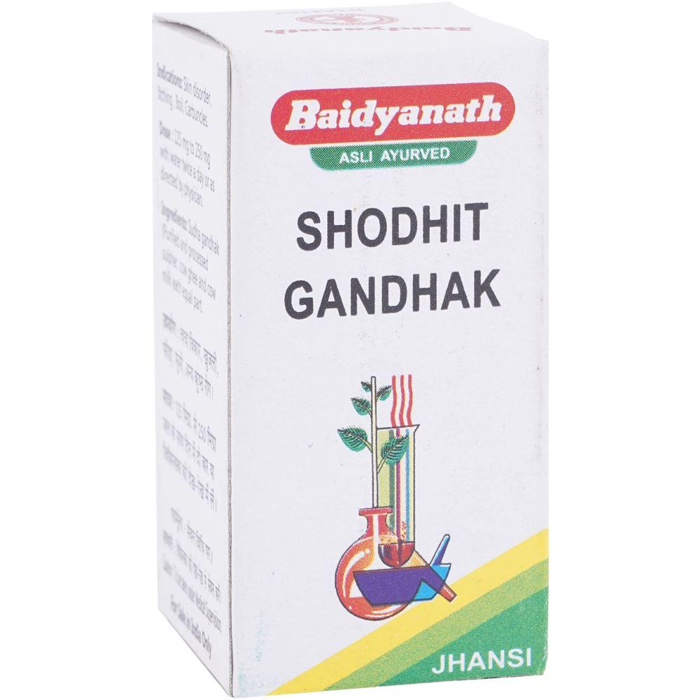 Baidyanath Shodhit Gandhak (10g)
