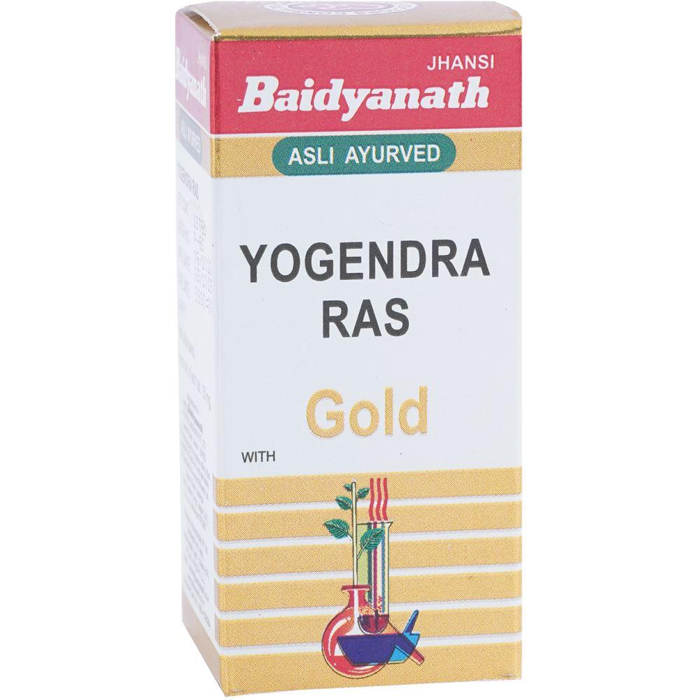 Baidyanath Yogendra Ras (Swarna Moti Yukta) (25tab)
