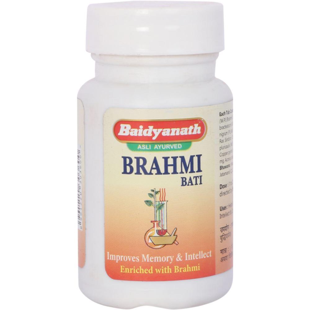 Baidyanath Brahmi Vati (Buddhi Vardhak) (80tab)
