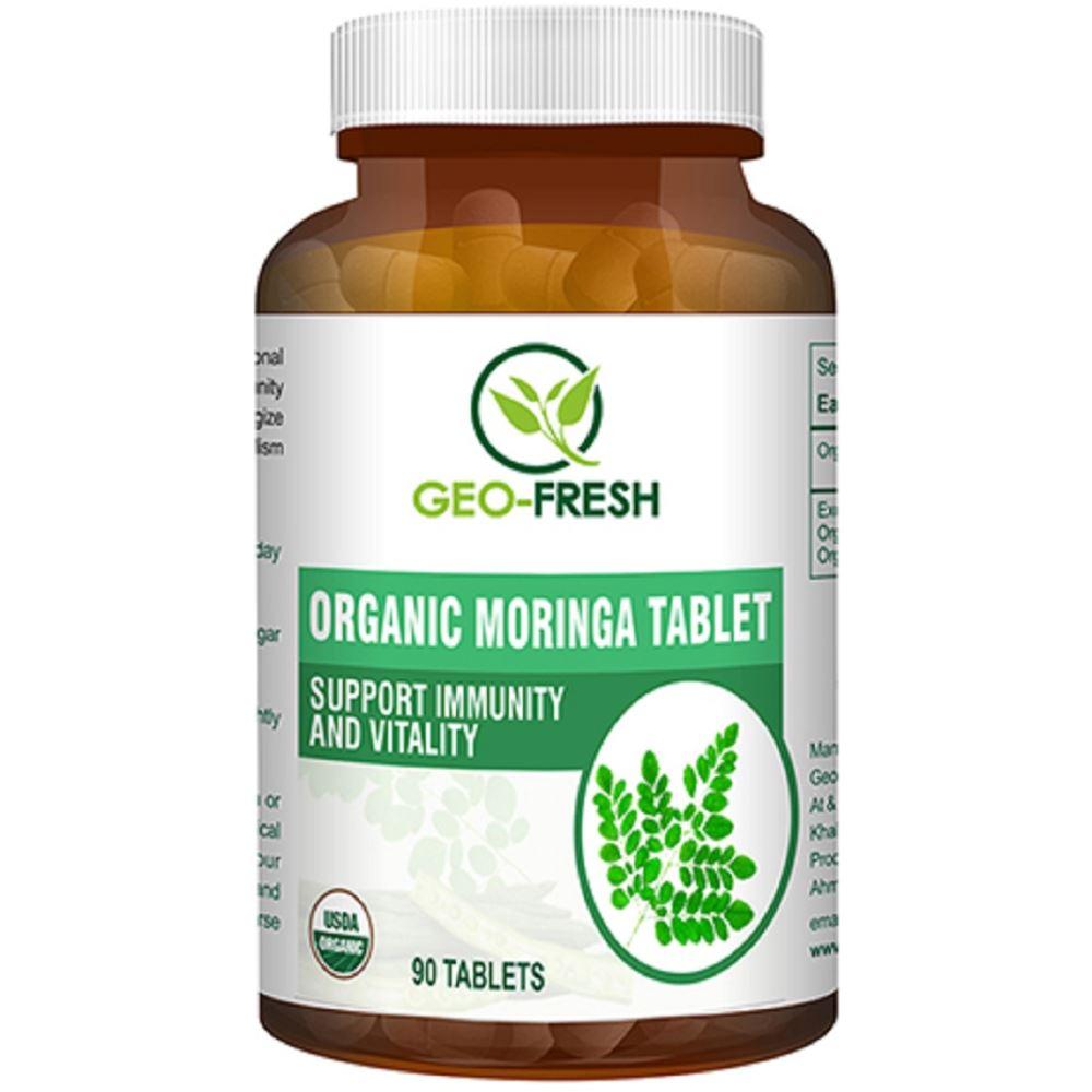 Geo-Fresh Organic Moringa Tablet 500mg (90tab)