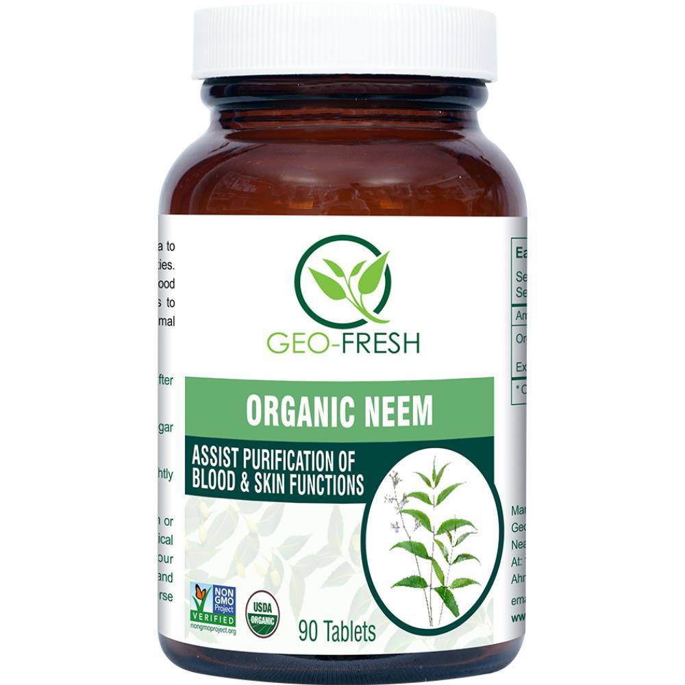 Geo-Fresh Organic Neem Tablet 600mg (90tab)