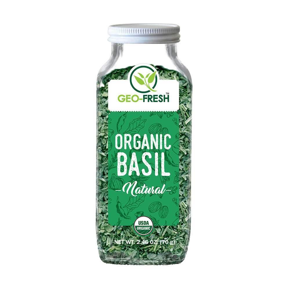Geo-Fresh Organic Basil (70g)