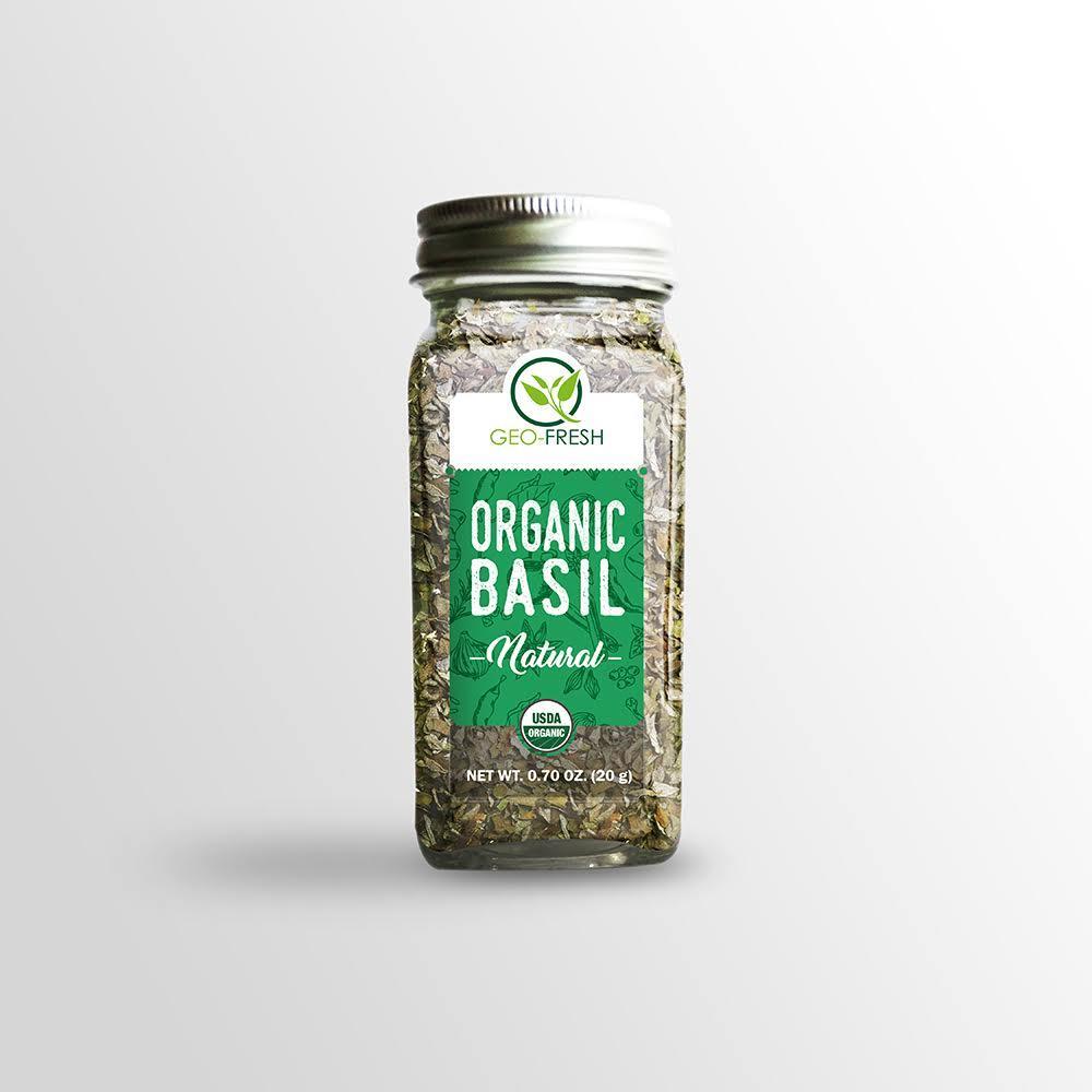 Geo-Fresh Organic Basil (20g)