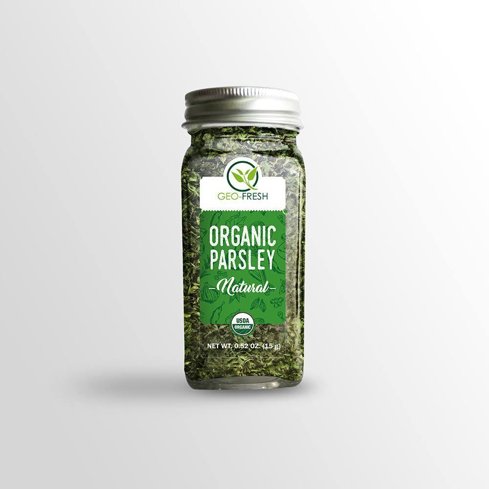 Geo-Fresh Organic Parsley (15g)