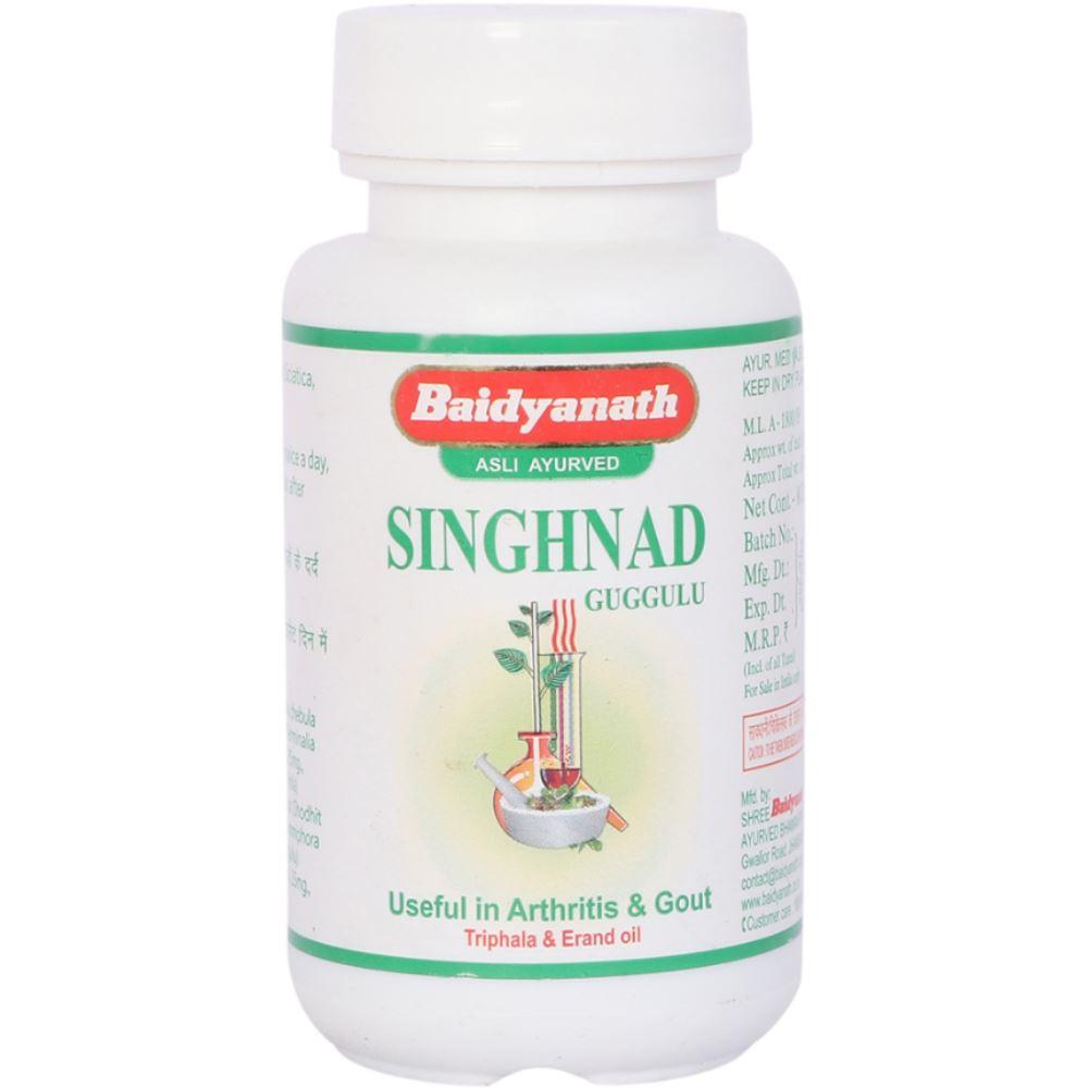 Baidyanath Singhnad Guggulu (80tab)
