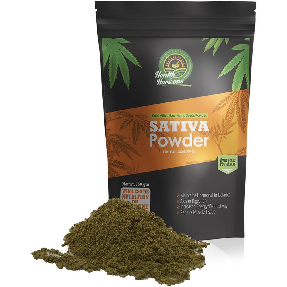 Health Horizons Ayurvedic Sativa Hemp Powder (150g)