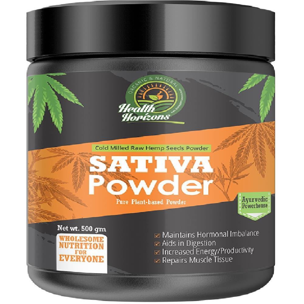 Health Horizons Ayurvedic Sativa Hemp Powder (500g)