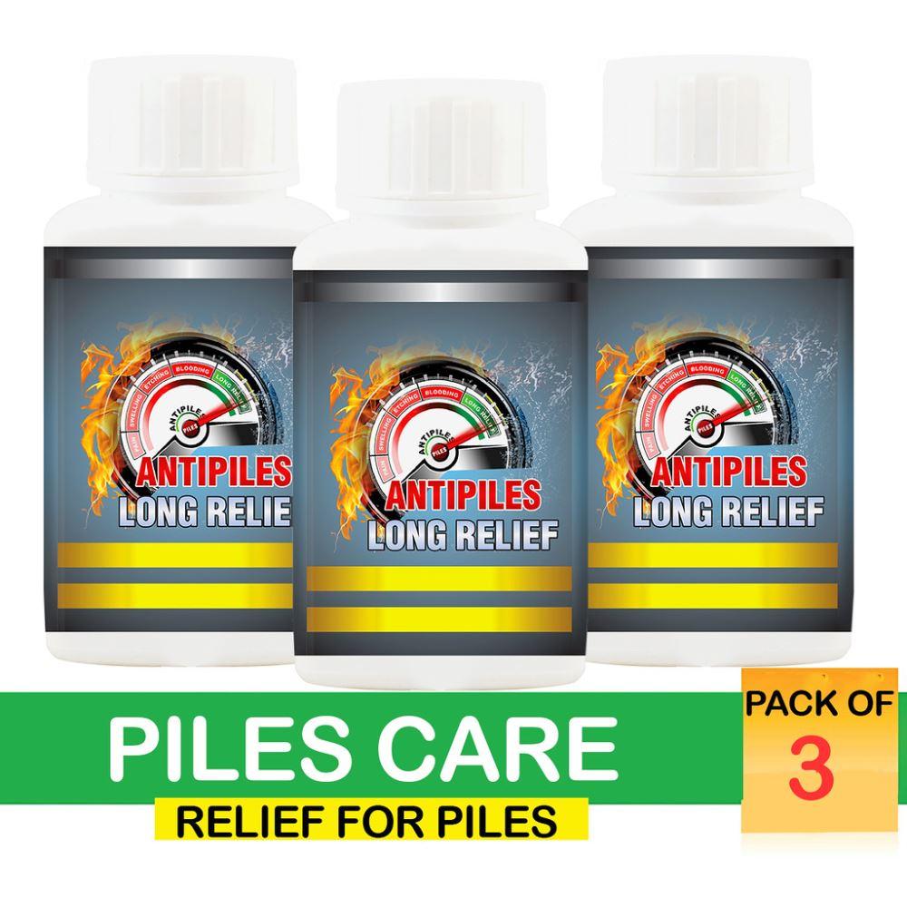 Pharma Science Anti Piles Long Relief (100g, Pack of 3)